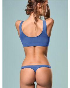 tanga azul