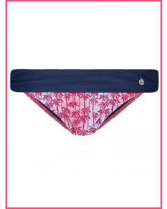 bikini de altura regulable con banda en contraste