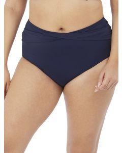 bikini braguita alta azul