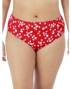 bikini braga alta roja