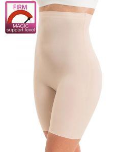 faja alta con pantalon color latte