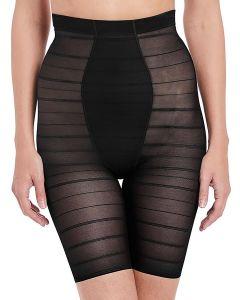 faja pantalón de tul negro
