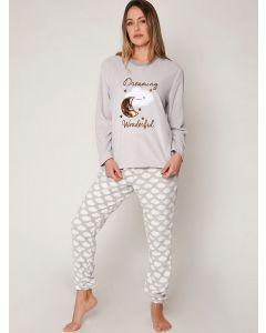 pijama polar mujer