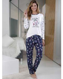 pijama algodon mujer