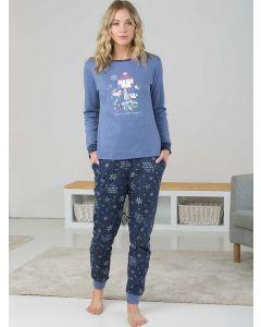 pijamas de mujer de algodón