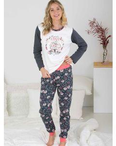 pijamas mujer algodón