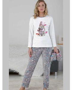 pijama mujer polar