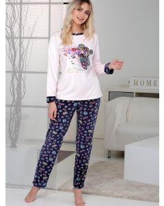 pijama rosa