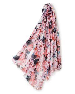 Pañuelo estampado rosas