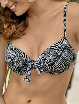 bikini con aros y relleno