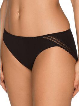 braga negra corte bikini