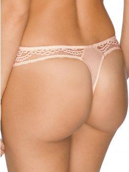 espalda tanga encaje rosado