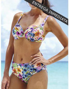Bikini Anita Comfort Rainbow Flower Hermine 8407