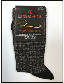 calcetines mujer beige