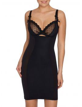 faja vestido reductor negro