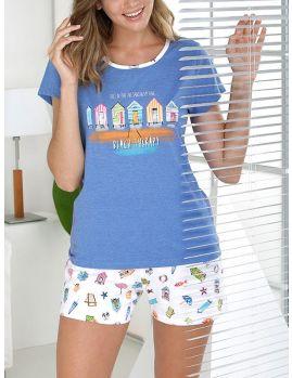 pijama mujer corto