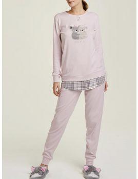 pijama de mujer rosa