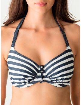 Top bikini con aros