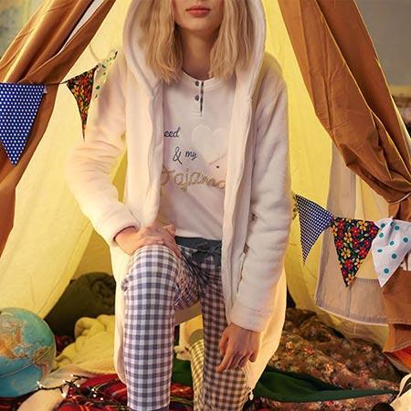 Pijamas de invierno para plantarle cara al frío nocturno