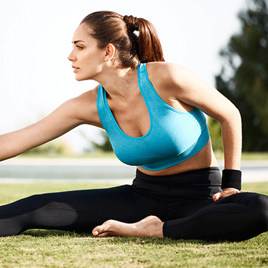 Sujetadores para hacer yoga o pilates. Los modelos deportivos más cómodos
